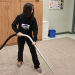 Vacuum and steam cleaning